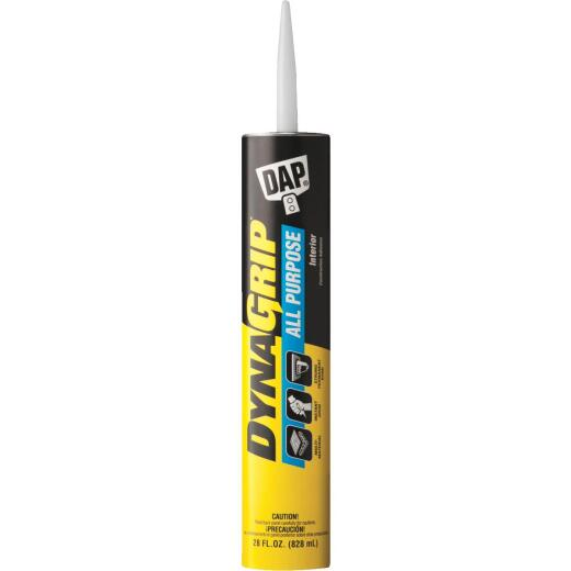 DAP DYNAGRIP 28 Oz. All Purpose Construction Adhesive