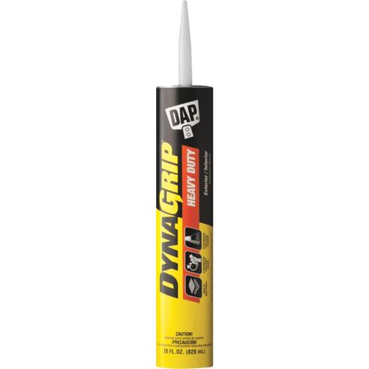 DAP DYNAGRIP 28 Oz. Heavy Duty Construction Adhesive